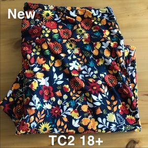 Lularoe TC2 Tall Curvy 2 leggings Size 18+ New